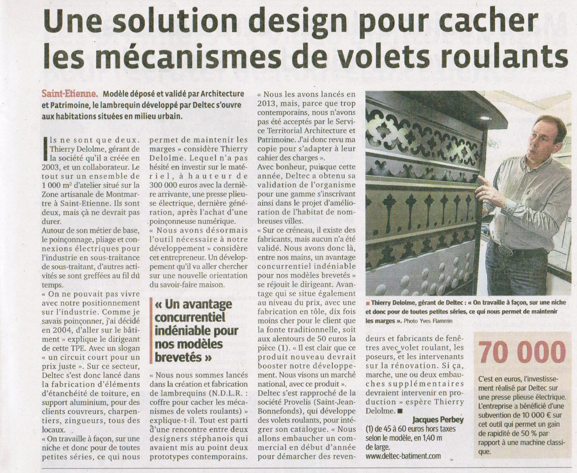 Une solution design